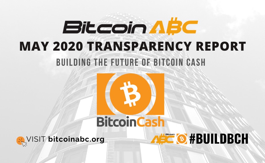 Bitcoin ABC May 2020 Transparency Report