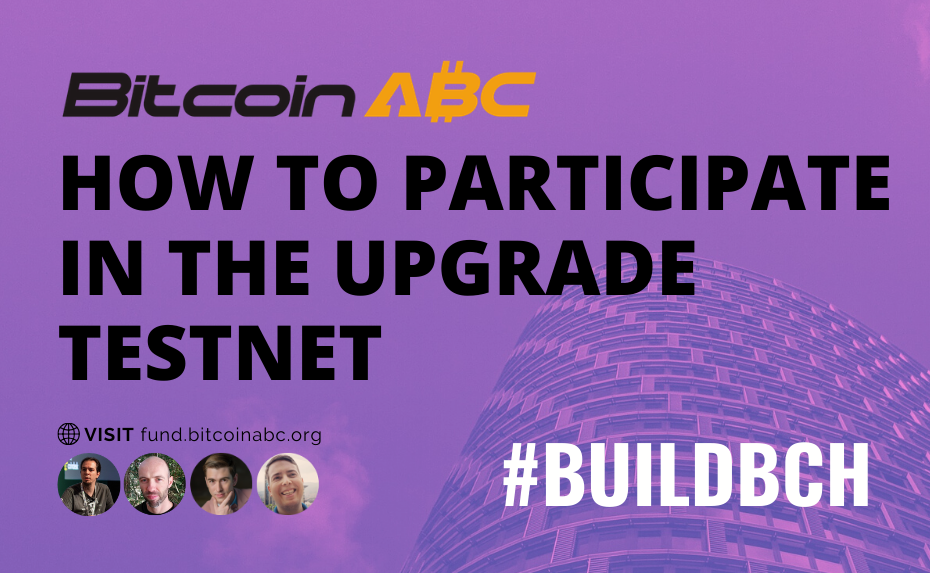 How to Participate in the Upgrade Testnet