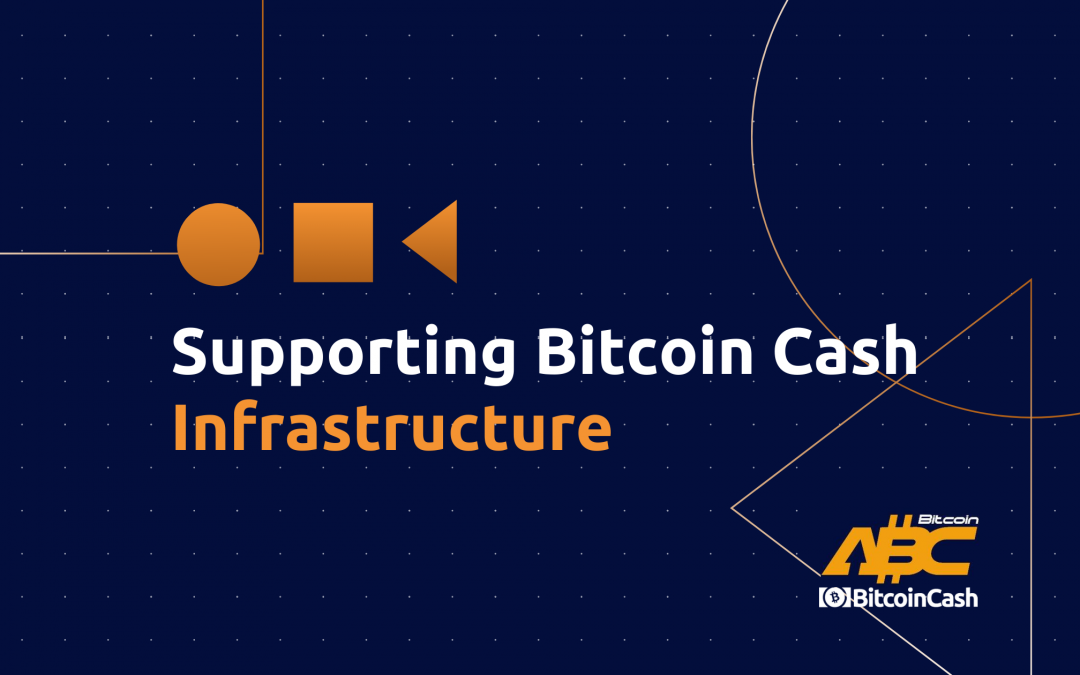 Supporting Bitcoin Cash infrastructure